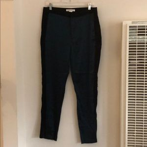 Pants - NWOT BCBGeneration Black and Metallic Blue Pants